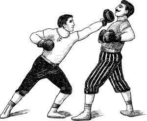 boxing history drawing