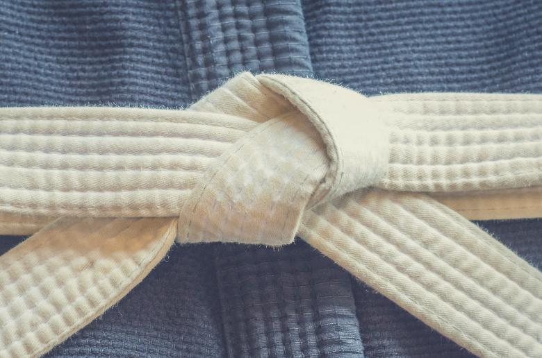 white belt first bjj class