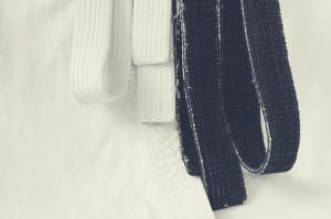 white and black bjj belts